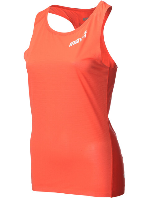 inov-8 AT/C Hardloopshirt zonder mouwen Dames oranje
